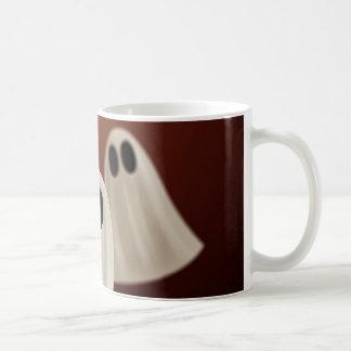 Ghosts Basic White Mug
