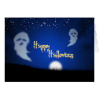 Ghosts! Greeting Card
