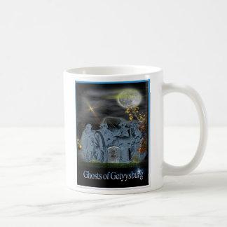 ghosts of gettysburg coffee mug