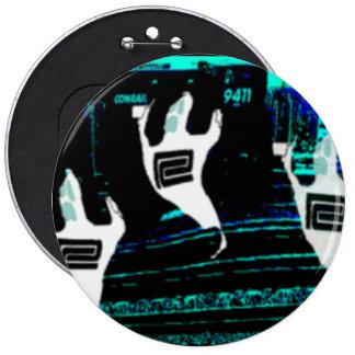 Ghosts of The Northeast Corridor Railroads 6 Cm Round Badge