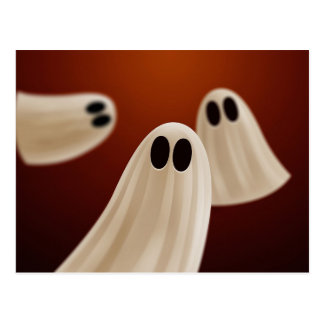 Ghosts Postcard