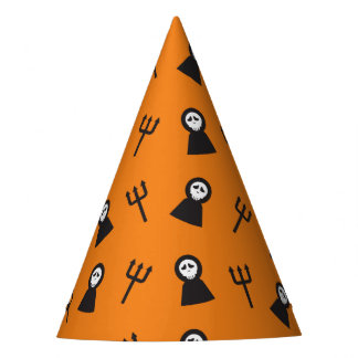 Ghosts tridents pattern Halloween Party Hat