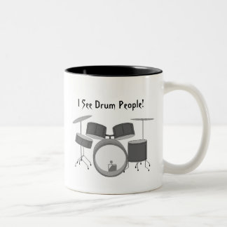 Ghosts Two-Tone Coffee Mug