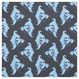 Ghosts with chains pattern fabric