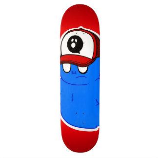 GHOSTTOON™ Ruff Patch Red Skateboard Deck