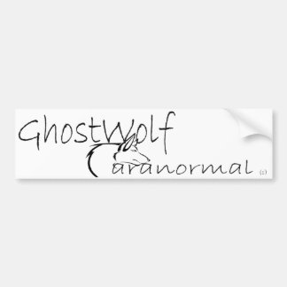 GhostWolf Bumper Bumper Sticker