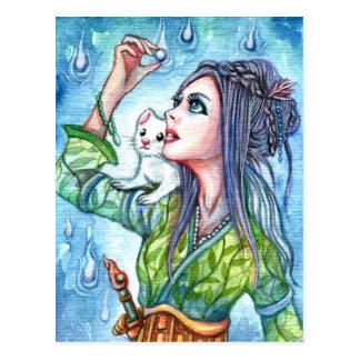 Ghosty Pearl Postcard