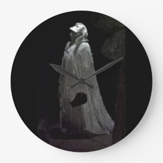 Ghothic ghostly ghoul cloak large clock