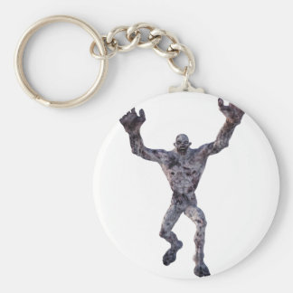 Ghoul Basic Round Button Key Ring