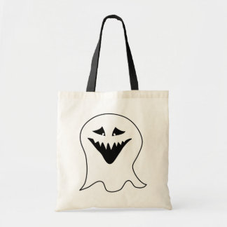 Ghoul. Black and White. Canvas Bags