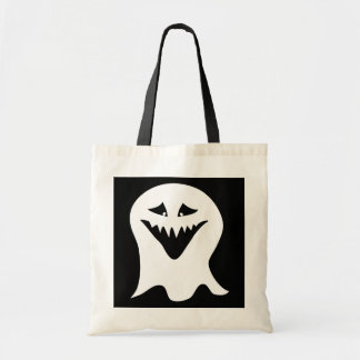Ghoul. Black and White. Tote Bag