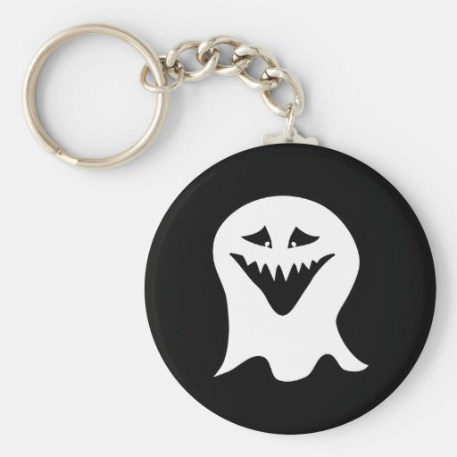 Ghoul. Black and White. Keychains