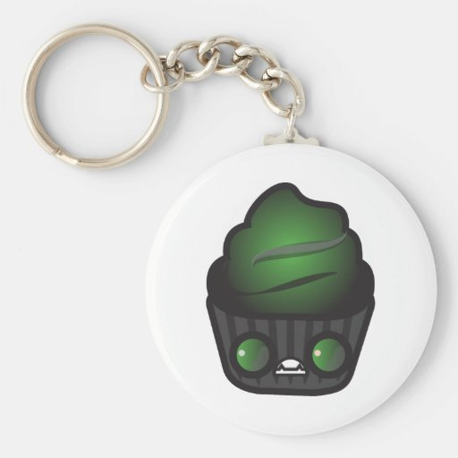 Ghoul Cupcake Keychain
