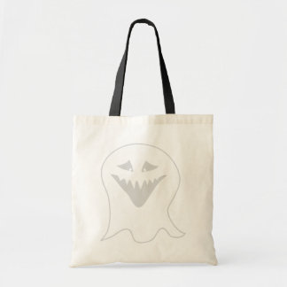 Ghoul Ghost Gray and White Bag