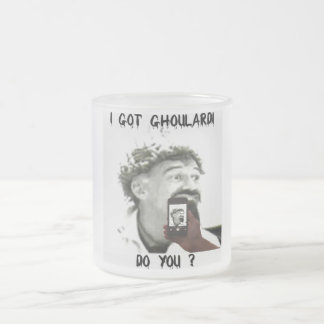 Ghoulardi (Cool It 5) Frosted 10 oz. Glass Mug