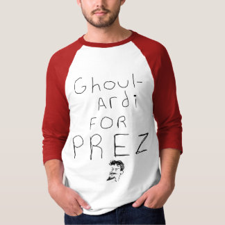 Ghoulardi For Prez Emo Shock Theater Cleveland T-Shirt