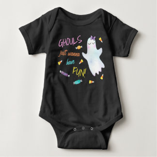 Ghouls Just Wanna Have Fun Baby Bodysuit