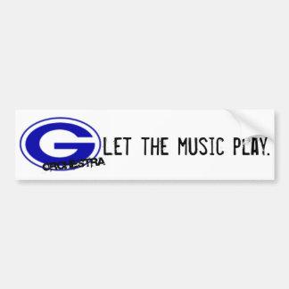 GHS Orchestra Bumper Sticker