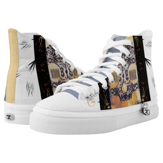 GhuluMuck Design Printed Shoes