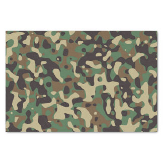 GI Camouflage Military Party Tissue Paper