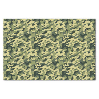 GI Camouflage Soldier Party Tissue Paper