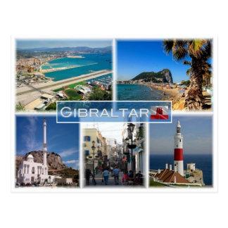 GI Gibraltar  - Postcard