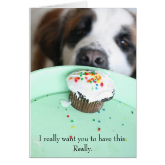 giada_cupcake, I really want you to have this. ... Greeting Card