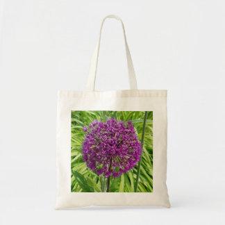 Giant Allium Flower Tote Bag