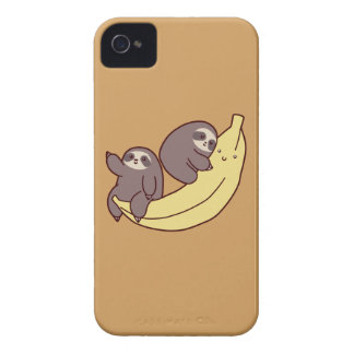 Giant Banana Sloths Case-Mate iPhone 4 Cases