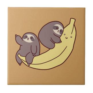 Giant Banana Sloths Tile