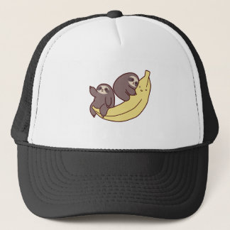 Giant Banana Sloths Trucker Hat