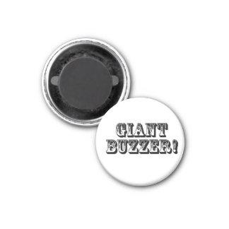 Giant Buzzer! Circle Magnet