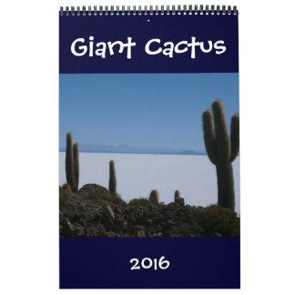 giant cacti 2016 wall calendars