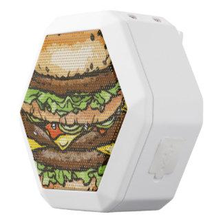Giant Cheeseburger White Boombot Rex Bluetooth Speaker