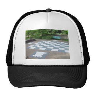 Giant Chessboard At Canberra In Australia Trucker Hat