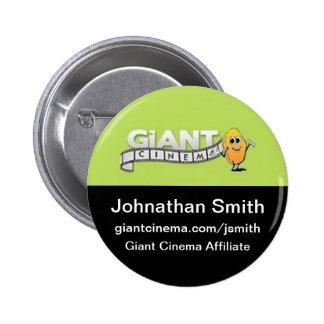 Giant Cinema Marketing Advertising Promo Button