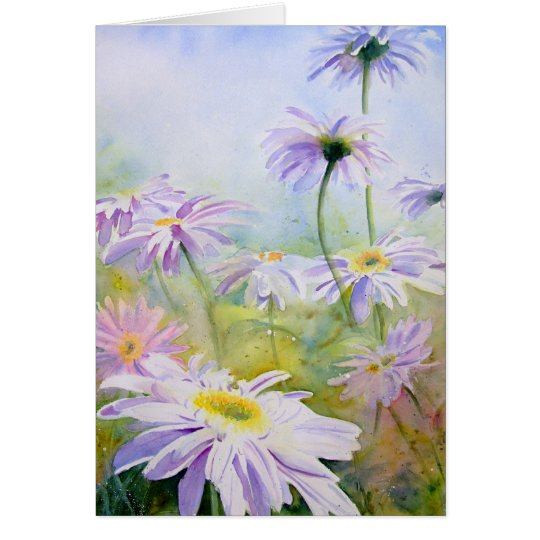 Giant Daisies Card