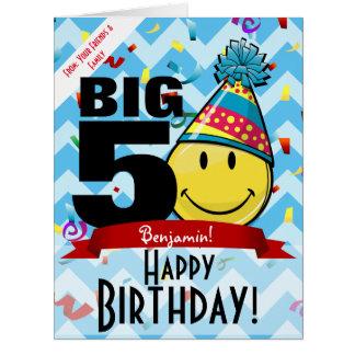 Giant Decade Mark Happy Birthday Smiling Big Card Big Greeting Card