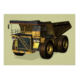 Giant Dump Truck Posters