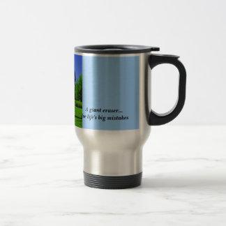 Giant Eraser  Stainless Steel Travel Mug