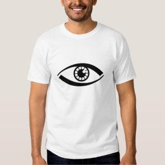 Giant eye shirts