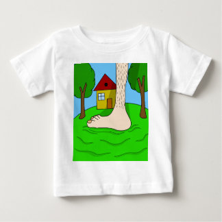 Giant foot baby T-Shirt