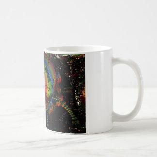 Giant fractal coffee mug
