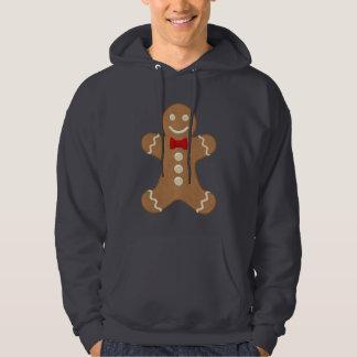 Giant Gingerbread Man Cookie Holiday Sweatshirt