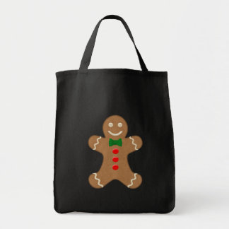 Giant Gingerbread Man Cookie Tote Bag