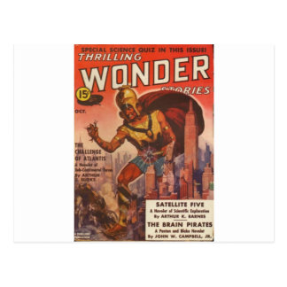 Giant Gladiator Postcard