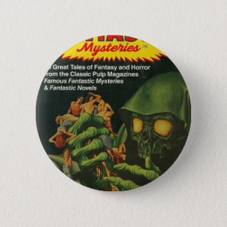 Giant Green Ghoul 6 Cm Round Badge