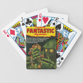 Giant Green Ghoul Bicycle Playing Cards