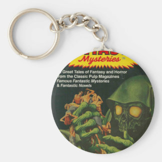 Giant Green Ghoul Key Ring