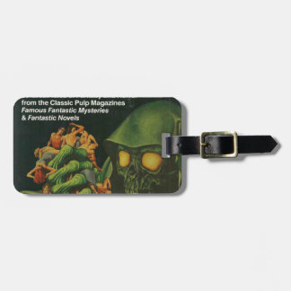 Giant Green Ghoul Luggage Tag